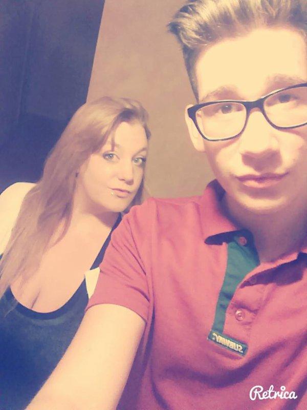 Moi et mon cousin !