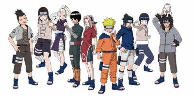 Naruto, tomes 4 et 5