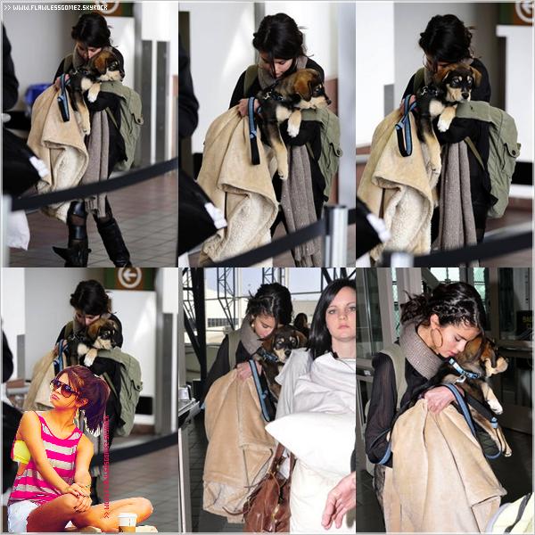 31.10.11 : Selena a était vue à l'aéroport de Los Angeles avec Baylor. Vos avis ?