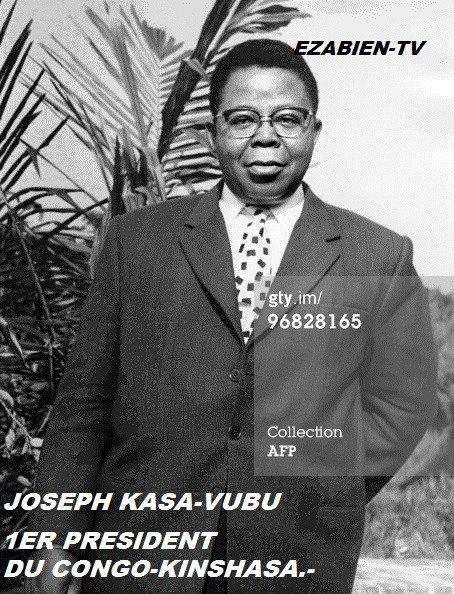 BIOGRAPHIE de Joseph KASA- VUBU Un séminariste révolutionnaire Président de l'Abako Premier président de la République