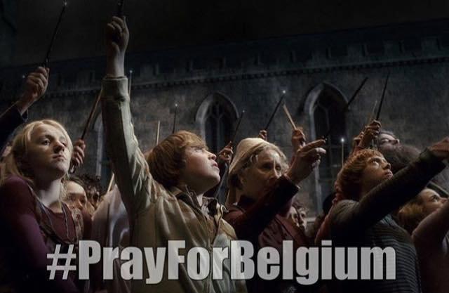 Touche pas à ma pote la Belgique.