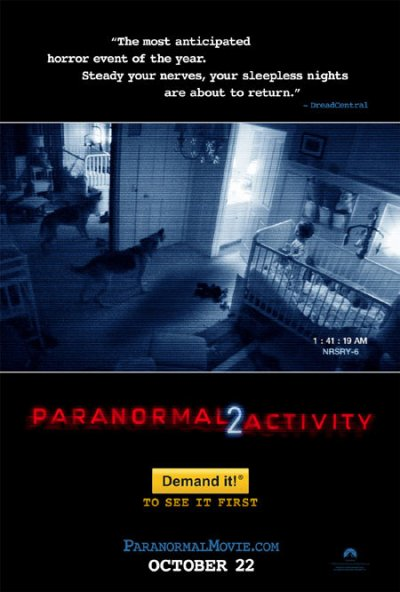 SPECIAL HALLOWEEN : PARANORMAL ACTIVITY 2 Directed by Tod Williams