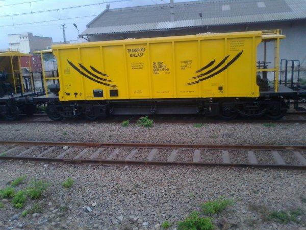 nouveaux Wagon ballast