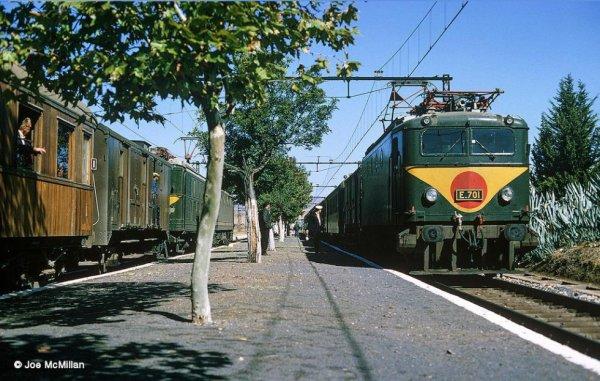 E-701 a Oued Rommane en 1966