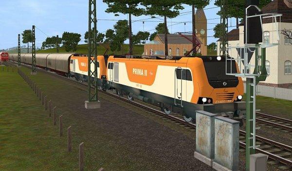 E-1400 dans le jeux de simulation Trainz 2013