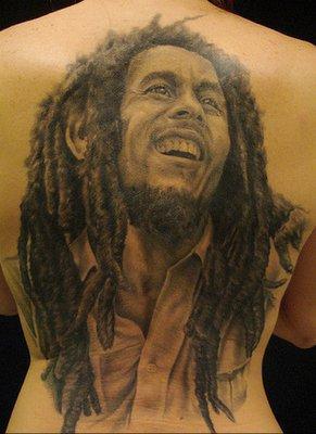 les rois du reggae tres jolie tatouage de lart