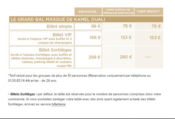 GRAND BAL MASQUÉ DE KAMEL OUALI  █▐▌█▐  25 JUIN 2016  █▐▌█▐  « LA BELLE ET LA BÊTE »