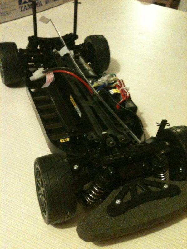 Présentation voiture RC: Tamiya Scirroco GT-24 XB sport