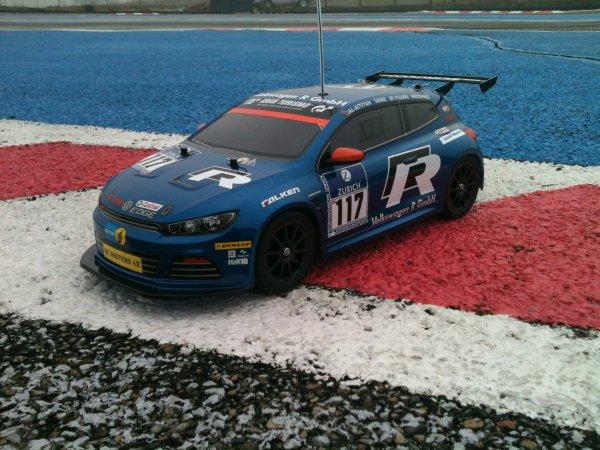 Tamiya Scirocco GT-24: premières sorties sur circuit, photos et vidéo!