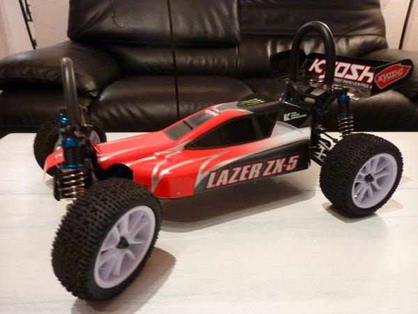 La Kyosho Lazer Zx-5 de Thomas.L
