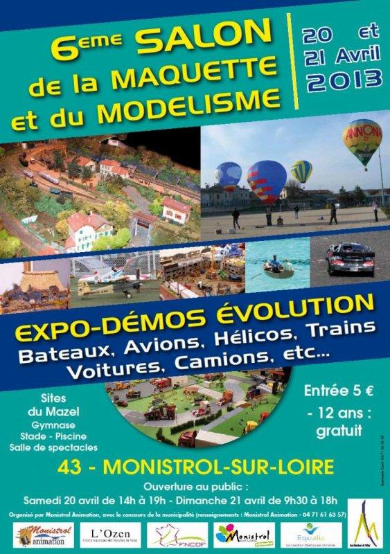 6ème Salon de la Maquette et du Modélisme à Monistrol sur Loire (43)