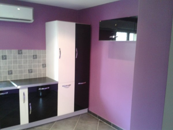 cuisine couleur prune blog de peinturedecoration625. Black Bedroom Furniture Sets. Home Design Ideas