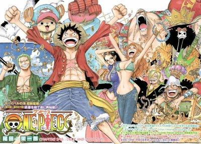 One Piece Scan 598 vf