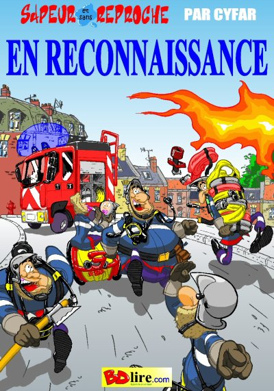 """""""sapeur et sans reproche"""" tome2 couverture:"""