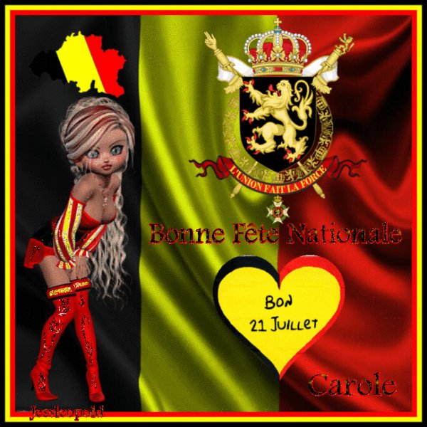 FÊTE NATIONALE BELGE .
