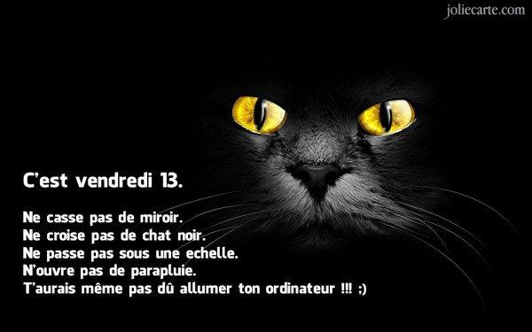 VENDREDI 13 .