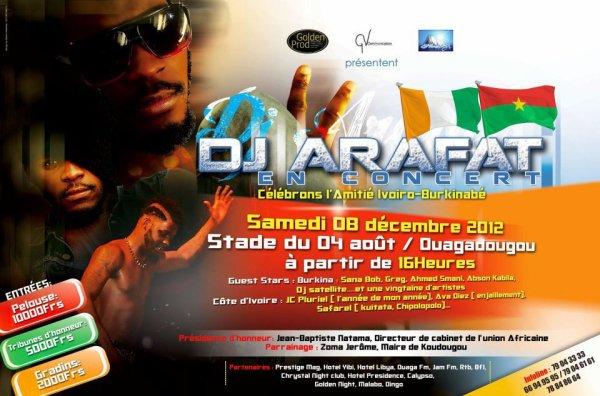 Arafat En Concert Live A Ouagadougou