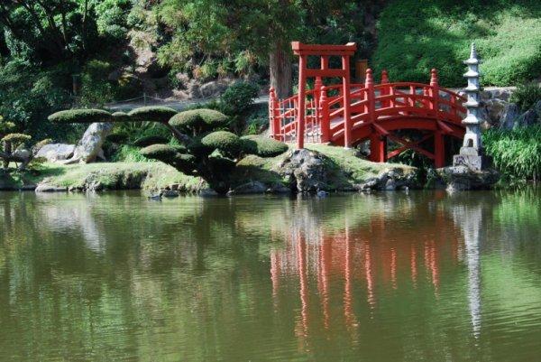 un lac au japon