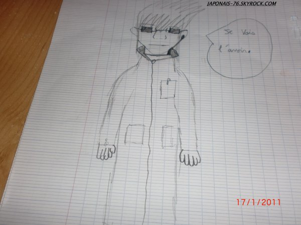 mon cher détective koroto(mon dessin) mdr