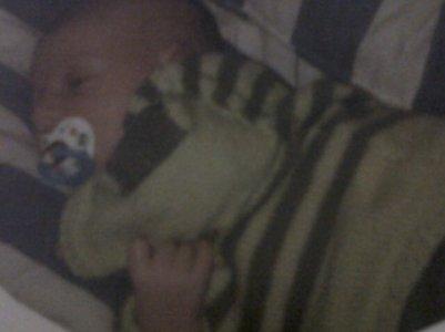 eddy qu'en il était bébé