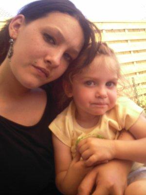moi et  ma niéce louna