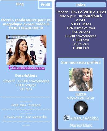 """Article 1 : """"La soupe à la Grimace"""" + Interview d'une Web-miss à découvrir et en + 10 facts sur Selena Gomez !"""