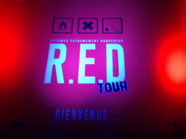 RED tour au Zénith de Toulon 06/06/15