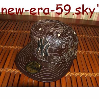 2faabfb15 Casquette new era 59 cuir n°2 - casquette new era 59