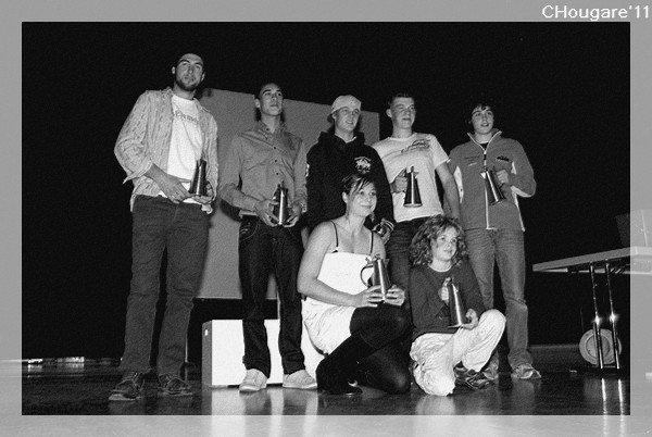 Podiums AFM 2011