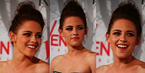 . 19/06/2012 - Kristen, Chris et Rupert étaient à Sydney pour l'avant première de SWATH. Kristen portait une robe Balmain et de magnifique escarpin. Le make-up est sublime ♥. .