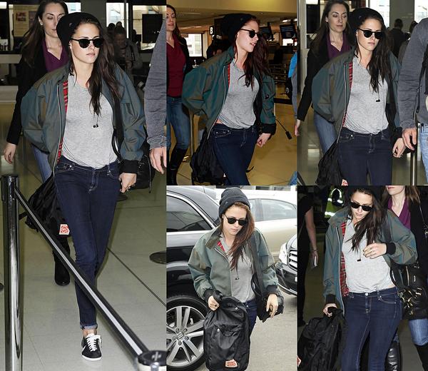 . 20/06/2012 - Kristen à l'aéroport de Sydney. La promo de SWATH est fini. Elle est toujours aussi belle ! .