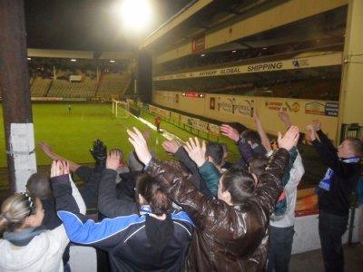 Antwerp - CS Visé (17 éme journée - Match remis rejoué)