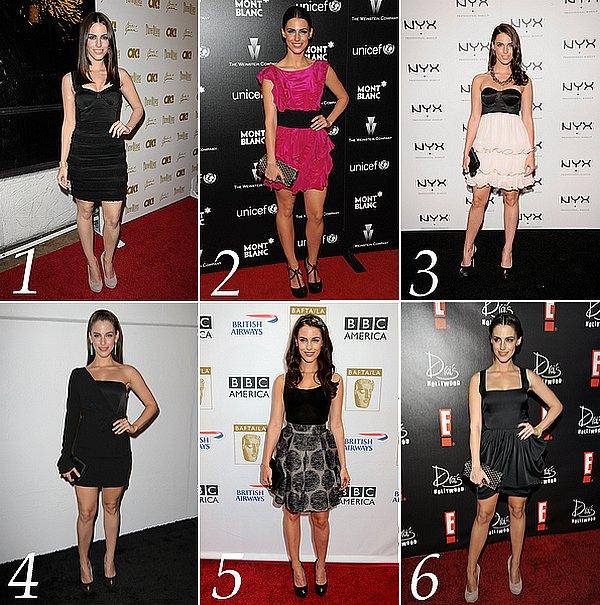 """. Quel est LA tenue """"de soirée"""" de 2010 ?____ Vote pour la plus belle tenue décontracté ci dessous.   ."""