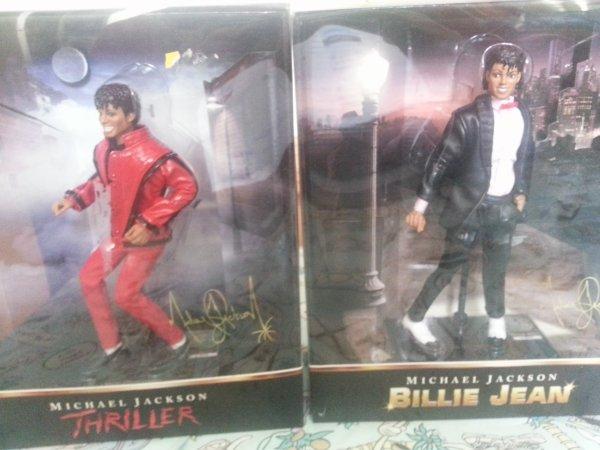 Poupéé Michael Jackson Thriller / Billie Jean