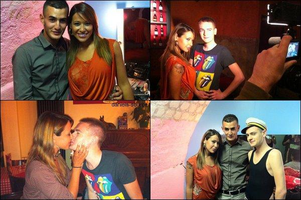 * 14/05/11 : Daniela était presente au café de son BFF JeremStar pour un show.