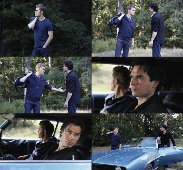 """De nouvelles photos de l'épisode """"ROSE"""" sont dispos ! Ian  .. SO IRRESISTIBLE  $)  Vous en pensez quoi ?"""