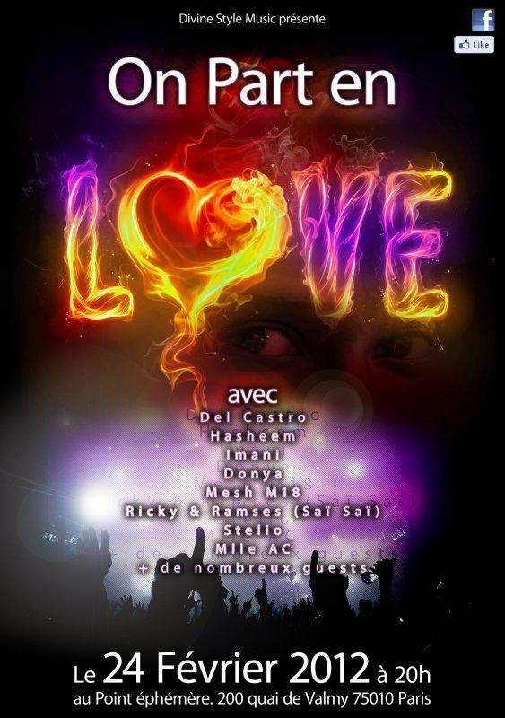 On Part En Love !!!