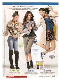 Victoria a posé dans un magasine hyper branchée : Seventeen!!!!!