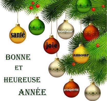 2015 Portez vous bien mes chers amis 'ies', de la joie , du bonheur pour vous et tous vos êtres chers!