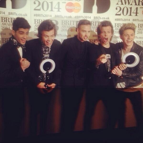 One direction brit award