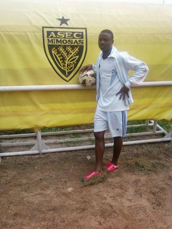 keita cheick aliouata joueur de l'asec academie mimosfcom en 2013