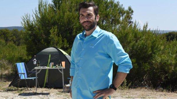 Camping paradis : le beau cadeau de Laurent Ournac à un fan