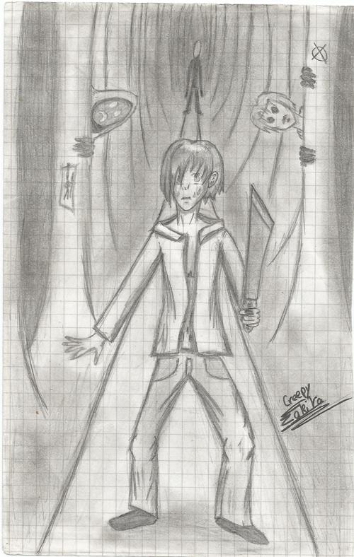 Fan Art: Slendy/Masky/Hoodie