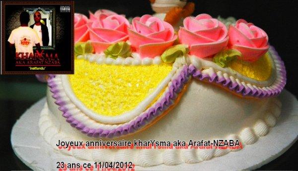 Anniversaire de l'artiste kharYsma : 23 ans aujourd'hui ! (kharYsma B-DAY this 11/04/2012)