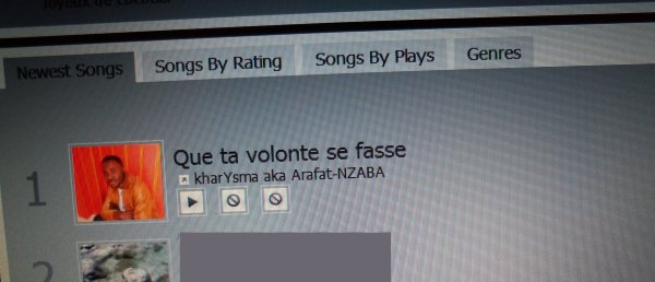 kharYsma aka Arafat-NZABA Reprend le pouvoir: N°1 RADIO-QUE TA VOLONTE SE FASSE
