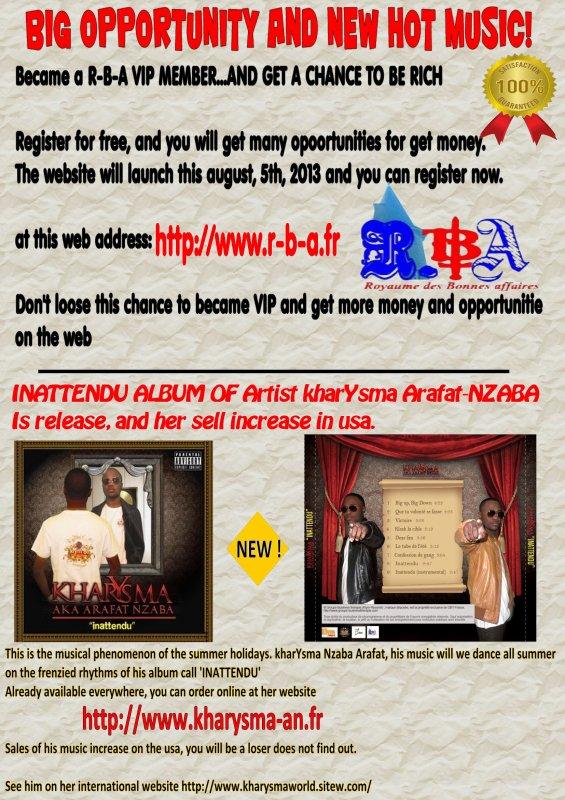 L'album INATTENDU est à vendre! http://www.groupe-businesstherapie.com/