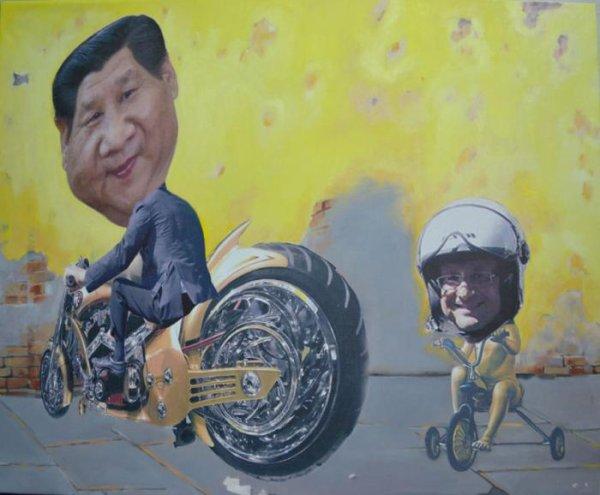 VISITE DU PRESIDENT CHINOIS EN FRANCE