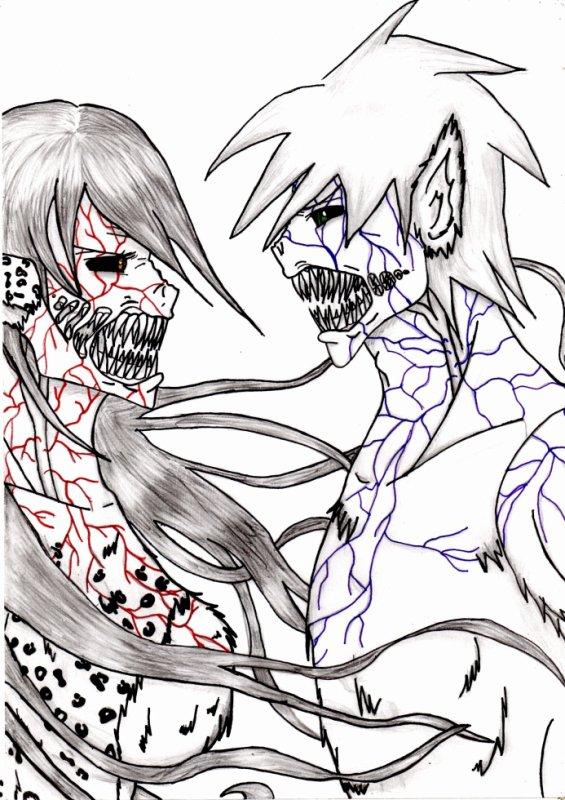deux monstre