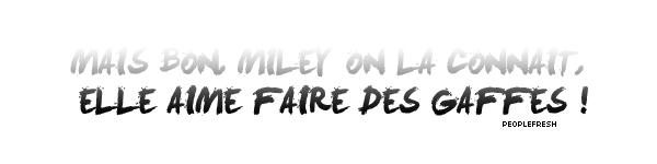 * Miley Cyrus : MILEY ET SA MAGNIFIQUE MÈCHE/BOUCLE D'OREILLE VERTE !*