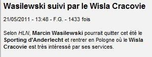 :( Wasil retourne dans sa boucherie en Pologne ! :(
